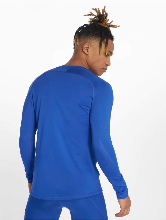 adidas Performance Sportshirts Alphaskin niebieski