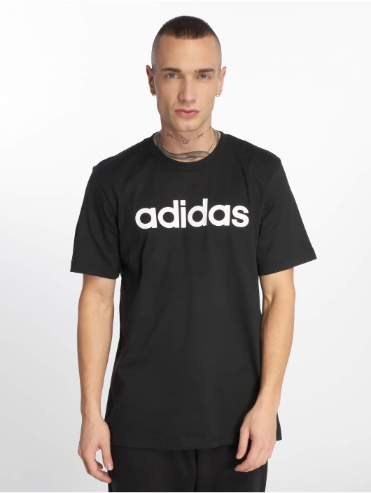 adidas Performance Sportshirts Lin schwarz