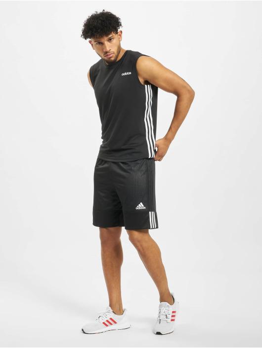 adidas Performance Sportshirts Design2Move 3 Stripes schwarz