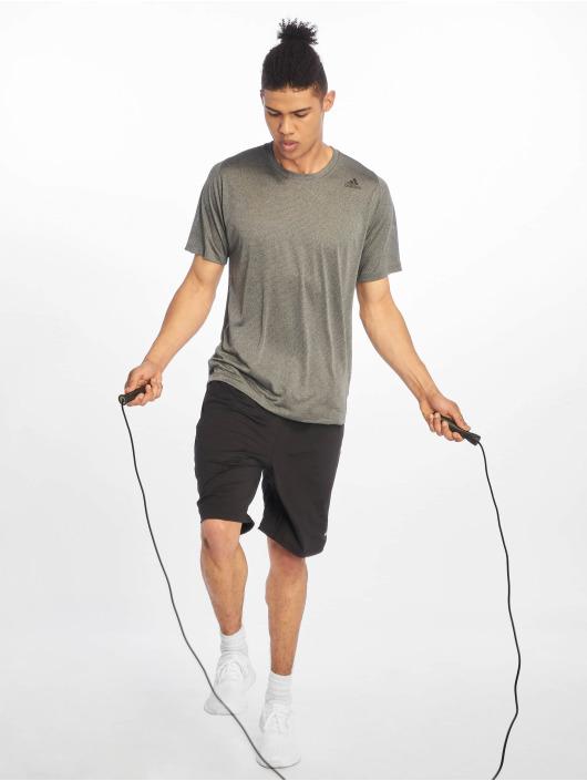 adidas Performance Sportshirts Tec szary