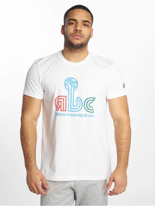 adidas Performance Sportshirts ABC weiß