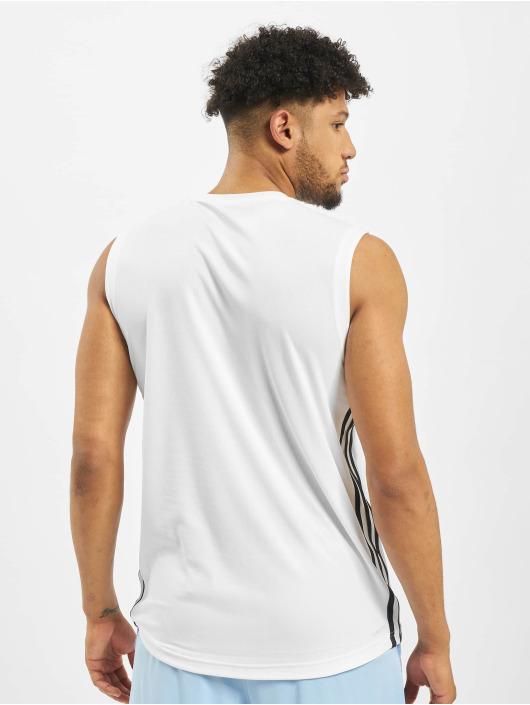 adidas Performance Sportshirts Design2Move 3 Stripes weiß