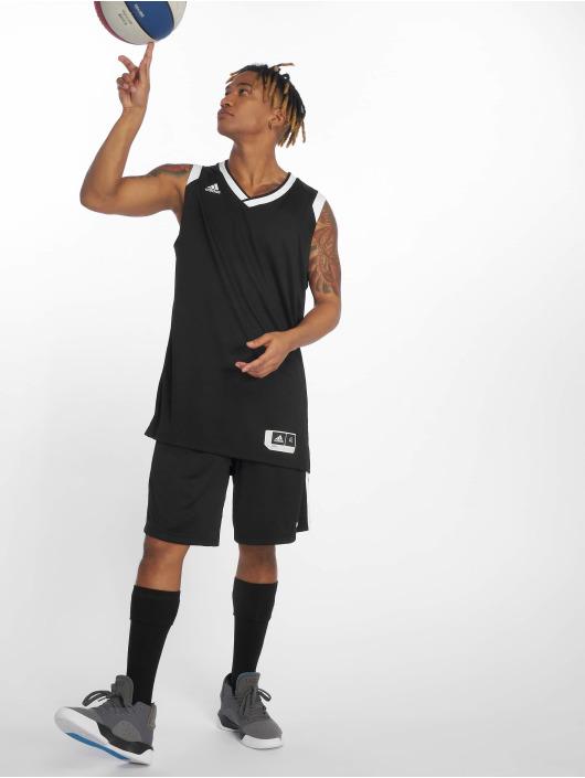 adidas Performance Sportshorts 3S svart