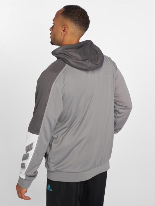 adidas Performance Sweat capuche zippé ACT gris
