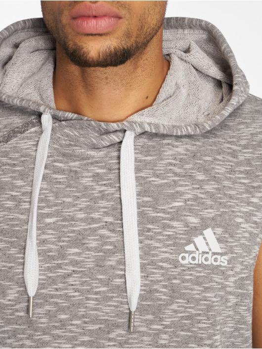 adidas Performance Sweats capuche de Sport Shooter gris