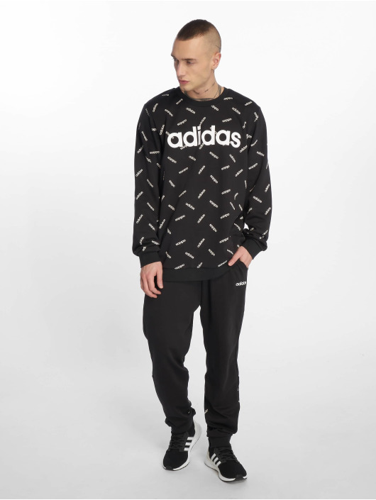adidas Performance Swetry AOP czarny