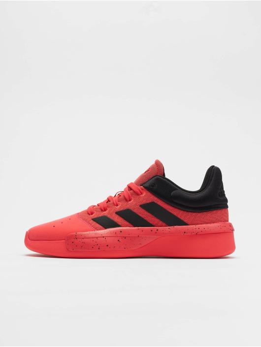 adidas Performance Tøysko Pro Adversary Low 2 Basketball Shoes red