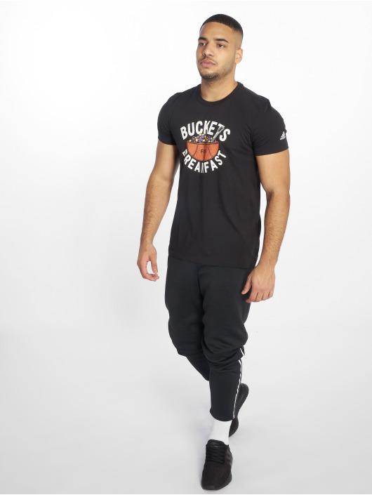 adidas Performance T-paidat Buckets musta