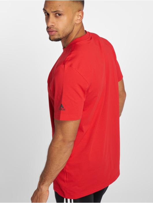 adidas Performance T-paidat Dame Logo punainen