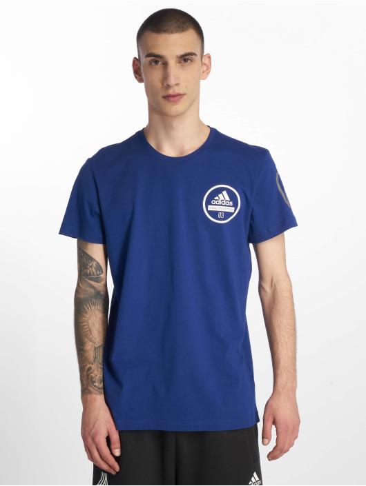adidas Performance T-Shirt 360 blau