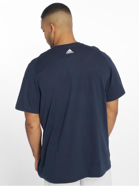 adidas Performance T-Shirt ESS Big Logo blau