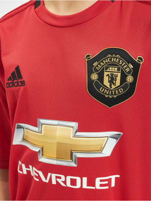 adidas Performance t-shirt Manchester United Home rood
