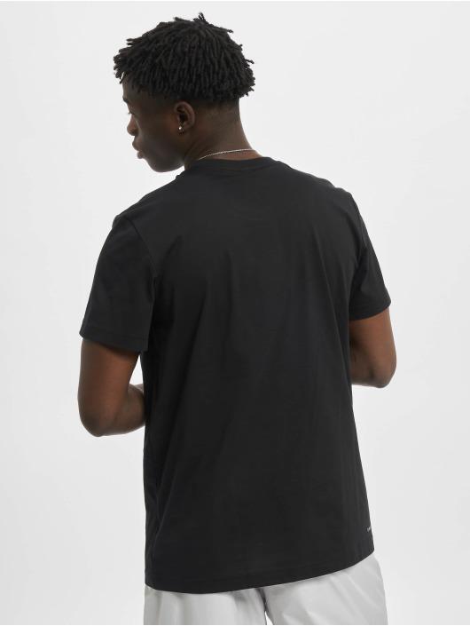 adidas Performance T-Shirt Dame Logo schwarz
