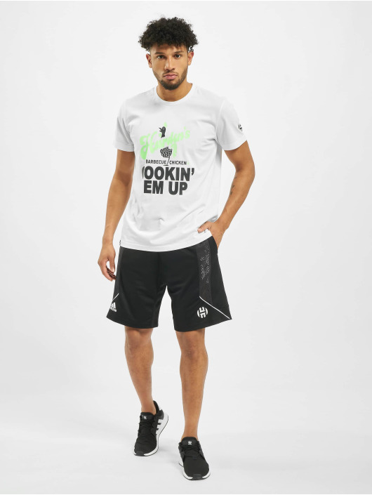 adidas Performance t-shirt Harden Swag Art wit