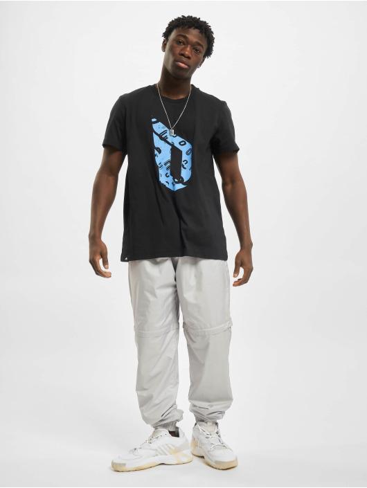 adidas Performance t-shirt Dame Logo zwart