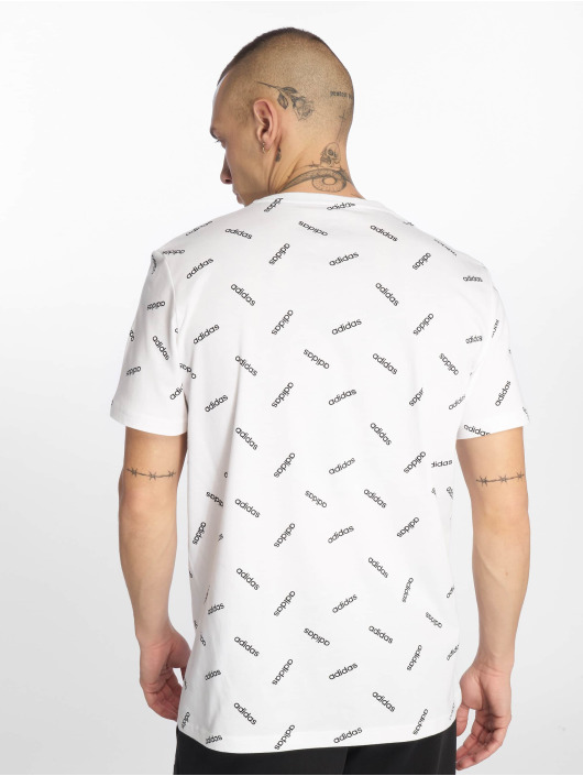 adidas Performance T-Shirty AOP bialy