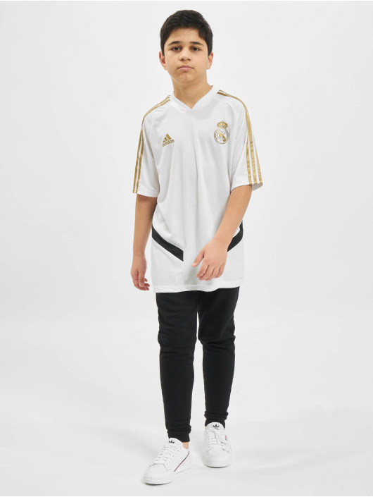 adidas Performance T-Shirty Real Madrid Training bialy