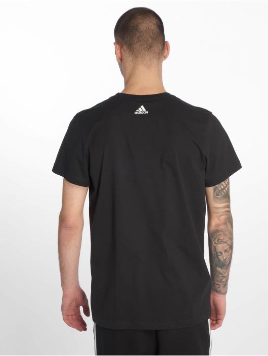 adidas Performance T-Shirty BOS czarny