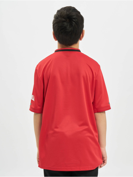adidas Performance T-Shirty Manchester United Home czerwony