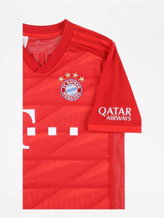 adidas Performance T-Shirty FC Bayern Home czerwony