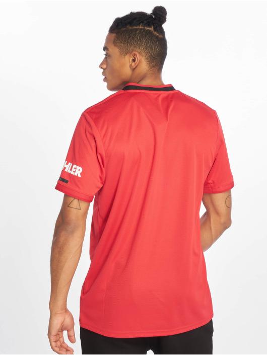 adidas Performance T-Shirty Manchester United Home czerwony