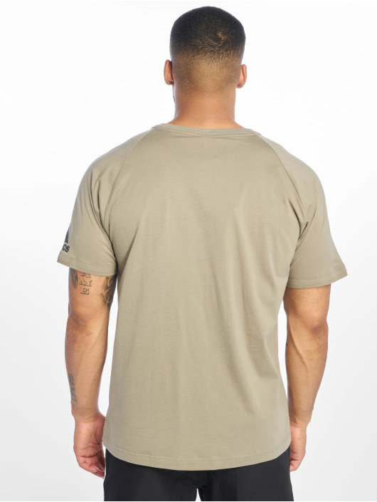 adidas Performance T-Shirty ZNE khaki