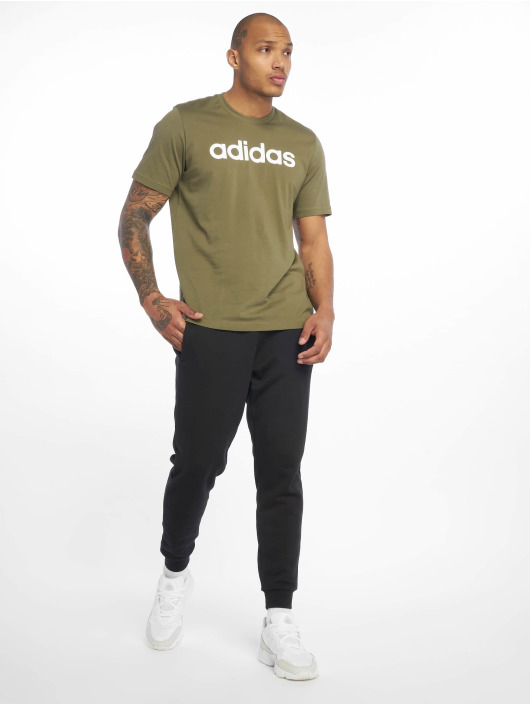 adidas Performance T-Shirty Lin khaki