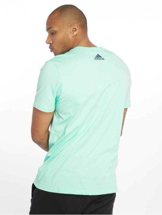adidas Performance T-Shirty Tango niebieski