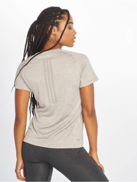 adidas Performance T-Shirty Tech Prime szary