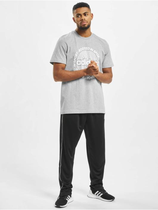 adidas Performance T-Shirty CRCLD GRFX szary