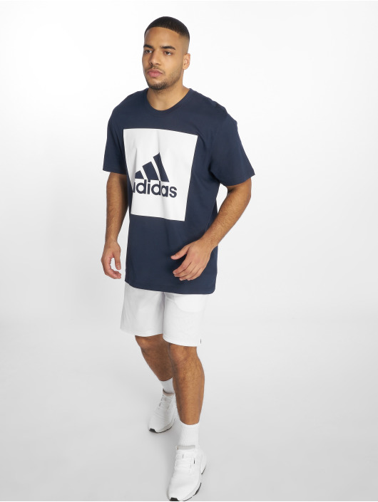 adidas Performance T-skjorter ESS Big Logo blå