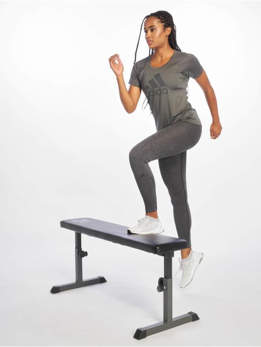 adidas Performance T-skjorter Training grå