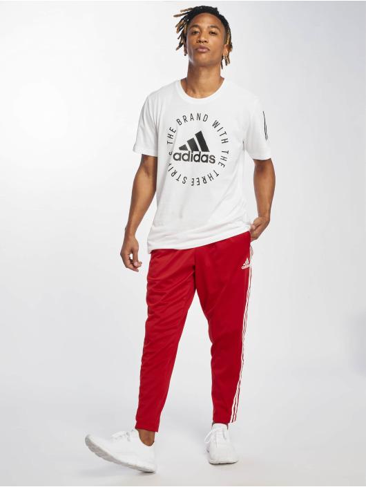 adidas Performance T-skjorter Sid hvit