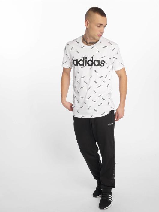adidas Performance T-skjorter AOP hvit