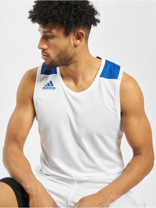 adidas Performance T-skjorter Game hvit