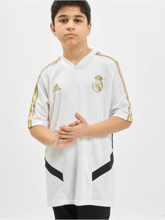 adidas Performance T-skjorter Real Madrid Training hvit