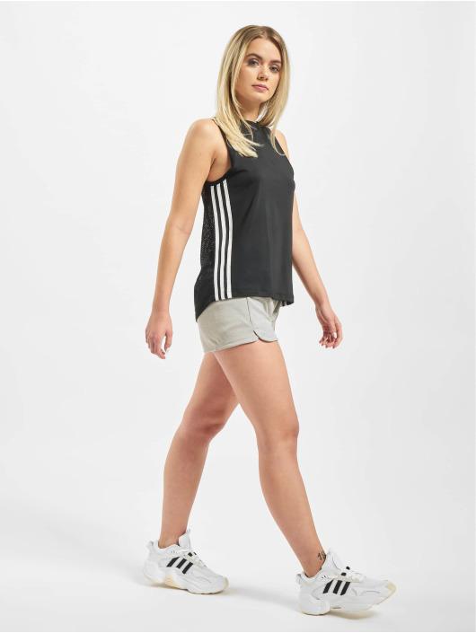 adidas Performance Tank Tops 3 Stripes Loose èierna