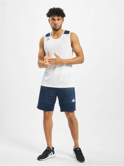 adidas Performance Tank Tops Game bialy