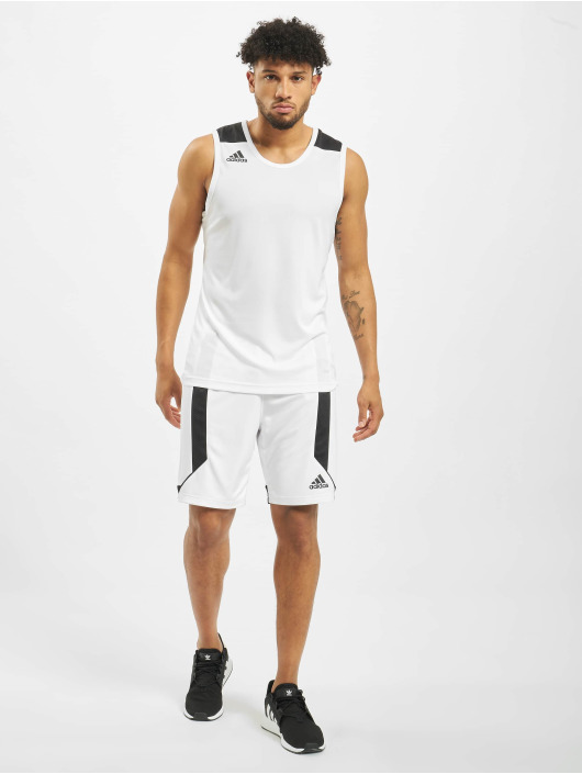 adidas Performance Tank Tops Game blanco