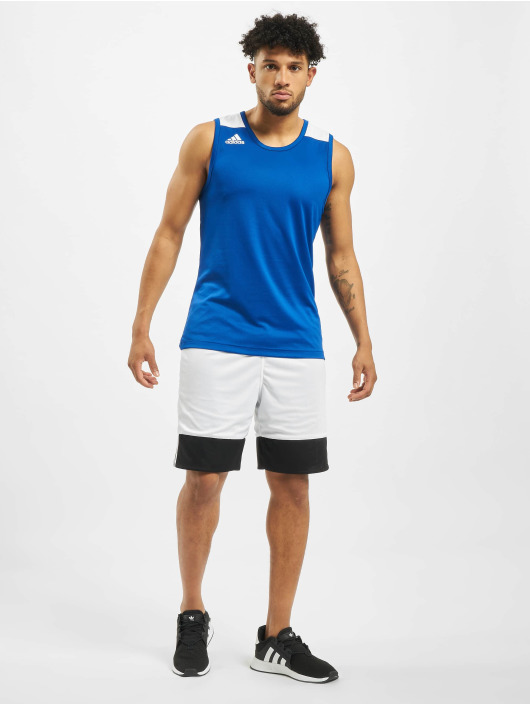 adidas Performance Tank Tops Game modrá