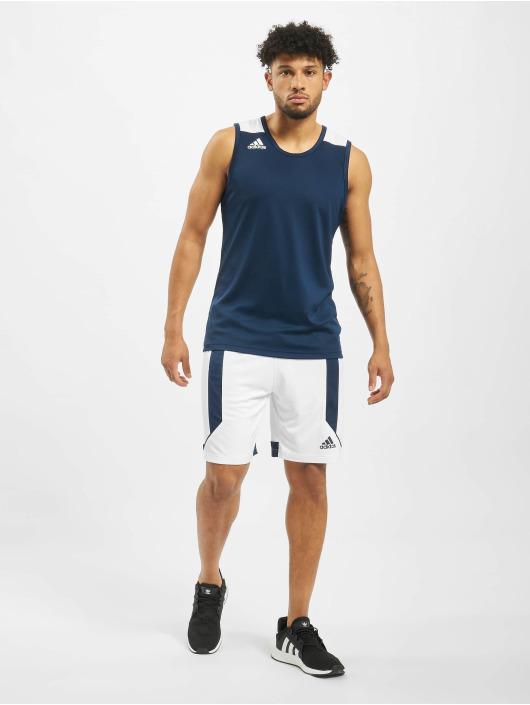 adidas Performance Tank Tops Game modrý