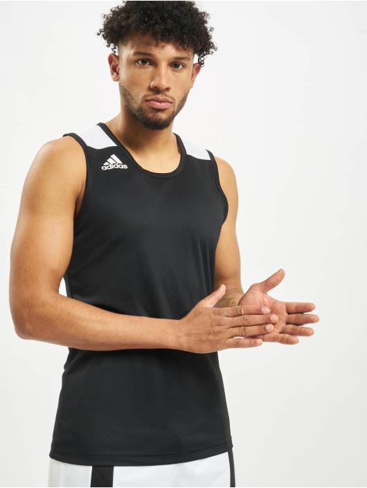 adidas Performance Tanktop Game zwart