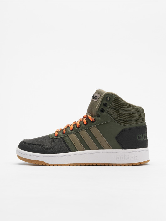 promo code 4e2af e962d ... adidas Performance Tennarit Hoops 2.0 Mid vihreä ...