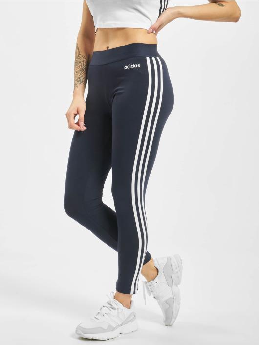 adidas Damen Essentials 3 Streifen Hose, Legend InkWhite, L
