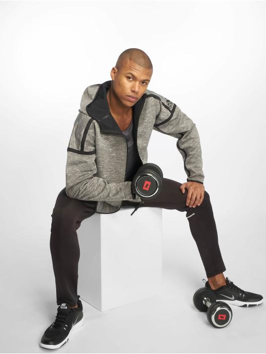 adidas Performance Trainingsjacken ZNE Reversible szary