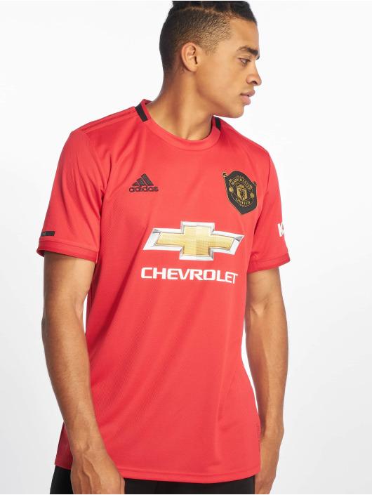 adidas Performance Tričká Manchester United Home èervená