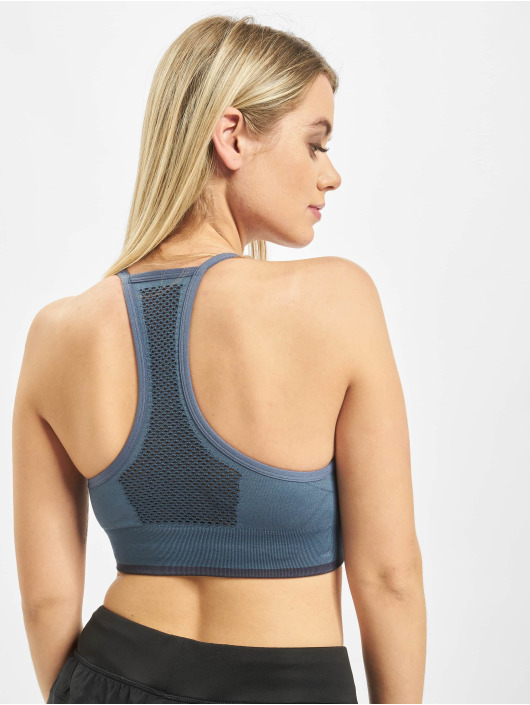 adidas Performance Underwear All Me Primeknit FLW Sport Bra blue