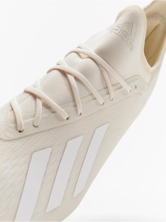 adidas Performance Utendørs X 18.2 FG hvit