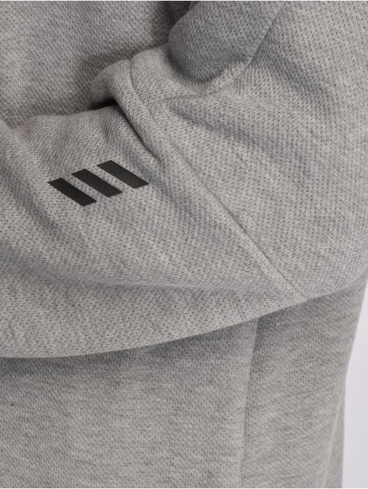 adidas Performance Zip Hoodie Harden šedá