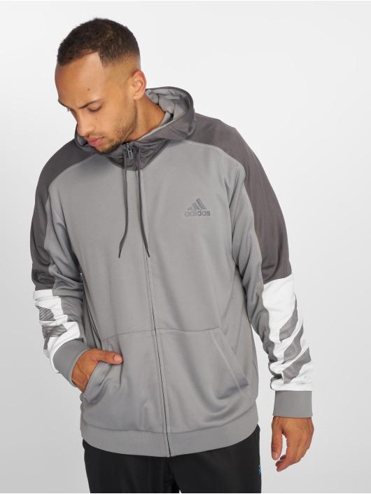 adidas Performance Zip Hoodie ACT šedá